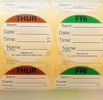 Combo Day Dots / Prep Labels
